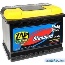ZAP Standart 555 59 L (55 А/ч)