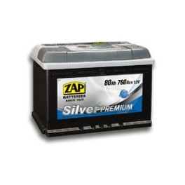 ZAP Silver Premium 565 35 (65 А/ч)